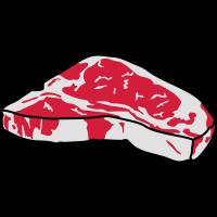 Steak Motiv/ Designer