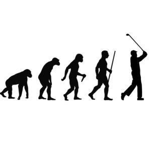 Evolution of Man Golf