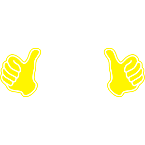 Daumen hoch - dieser Typ - thumbs up