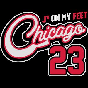 J's on my Feet - Chicago 23