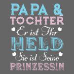 Papa & Tochter Held und Prinzessin