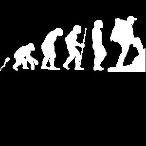Der Berg ruft Evolution Fun Shirt