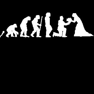 Hochzeit Evolution Fun Shirt