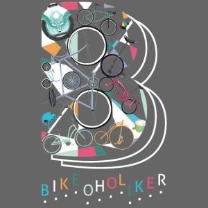 """""""Bikeoholiker"""" Tshirt für Frauen"""