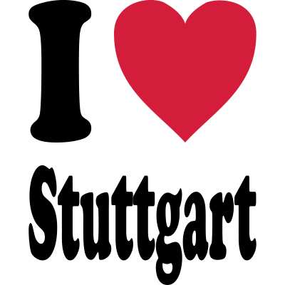 I love Stuttgart - I love Stuttgart - Ein tolles Motiv für alle Stuttgarter und alle die Stuttgart mögen! - Mercedes,Cannstatter Wasen,Cannstatt,i love Stuttgart,Neckar,Stuttgart,Love,Wasen,Loved,Daimler,Benz