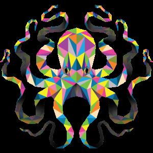Geometrische Oktopus