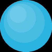Blauer Ball