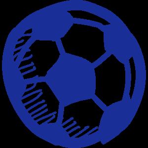 Sport vectorstock 1571755 Strichzeichnung Fussball