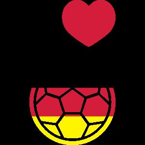 Ich liebe deutschen Fußball