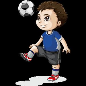 Kinderfußballspieler