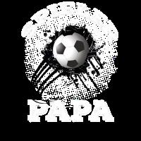 Spieler Papa Fußball