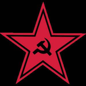 roter sterm Hammer und Sichel UDSSR