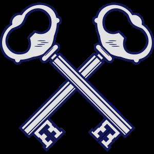 Gekreuzte Schlüssel