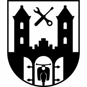 Simson Schwalbe - Suhl Wappen