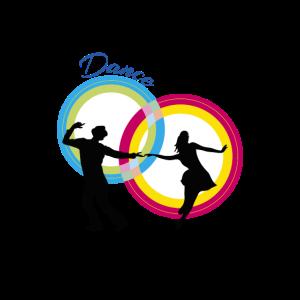 Paar Tänzer tanzen