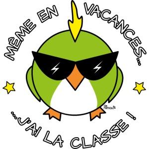 Oiseau Cool, Prof, J'ai La Classe