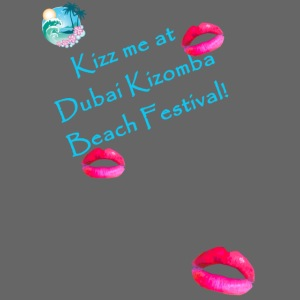 turquoise text - Kizz me at Dubai Kizomba
