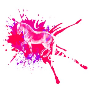Reiten ist Kunst Pink