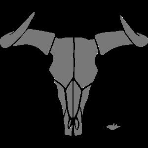 Bull Skull A01