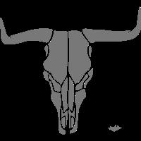 Bull Skull A02