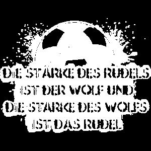 Die Stärke des Rudels ist der Wolf