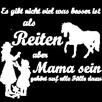 Mama sein und Reiten