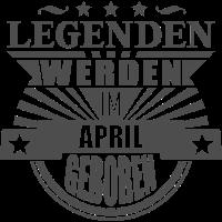 Legenden im April 1