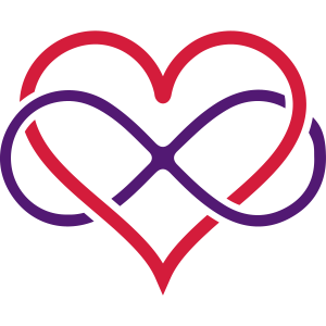 Herz Unendlichkeit Motiv/Designer