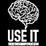 brain use it white
