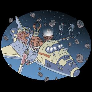Space Adventure 3 Meteore