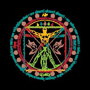 Vitruvian Cosmo Wise Man