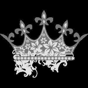 Krone mit Verzierungen