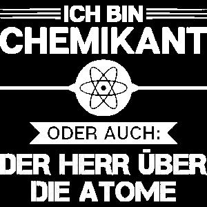 Chemikant/Chemikantin/Chemie/Herr/Atome/Atommodell