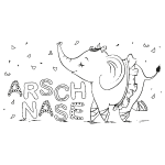 FUCK - Arschnase sw