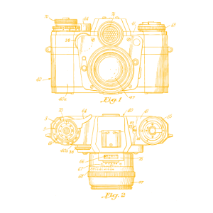 Kamera gelb