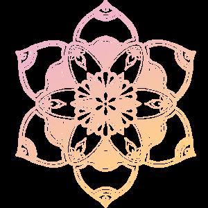 Mandala No. 2 - Ombré -