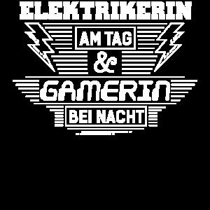 Elektrikerin am Tag & Gamerin bei Nacht