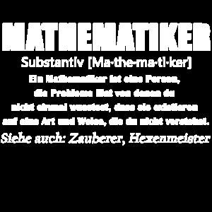 Mathematiker - Mathematiker Definition