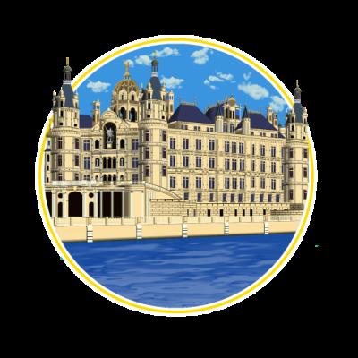 Schweriner Schloss  - Schweriner Schloss  - schweriner schloss,schweriner,schwerin,märchenschloss,märchen,icon,Wahrzeichen,Sehenswürdigkeiten,Sehenswürdigkeit,Schwerin,Schloss