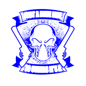 Family Crest - Blue Line - EN