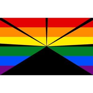 Gay flag run png