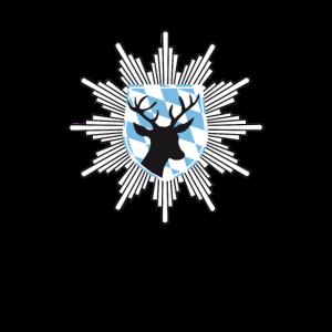 Bayern wappen hirsch jagd polizei Tracht lederhosn