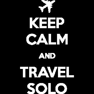 Bleib Ruhig Und Reise Solo