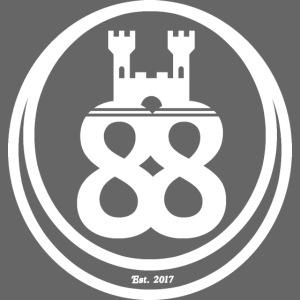 castle88 logo white png