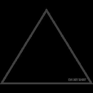 Triangle / Dreieck darkgray / dunkelgrau