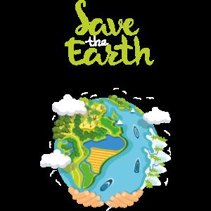 Rette die Erde