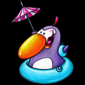 badender pinguin