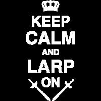 Keep Calm LARP, Rollenspiel, RPG, Fantasy