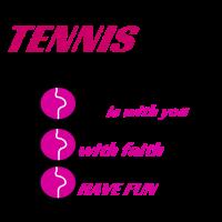 Tennis Mädchen, für einen besonderen jemand.