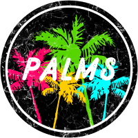 Bunte Palmen, Colorful Palms